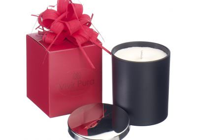Candle- Black and Red